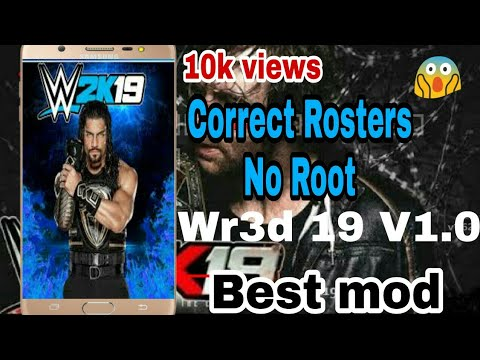 Wr3d 19 V1 0 Best Mod |No Root||correct Rosters|latest textures and  weapons(link in description)