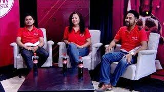 Coke Kham,Russia Jaam Winners   Naresh Joshi,Udeep Baral,Pushpa Shrestha THE EVENING SHOW AT SIX