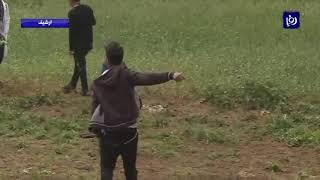 الاحتلال يقمع مسيرة العودة في غزة والحراك الشعبي في الضفة الغربية المحتلة  - (12-4-2019)