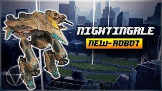 [WR] 🔥 New FLYING Healer Robot NIGHTINGALE - Preview Gameplay | War Robots