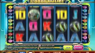 Игровые автоматы Robot Butler от Микрогейминг
