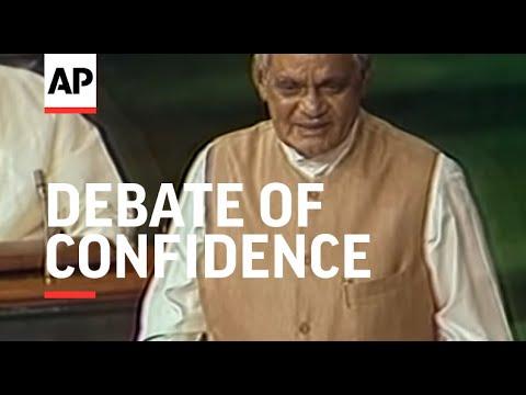 India - Debate Of Confidence Starts