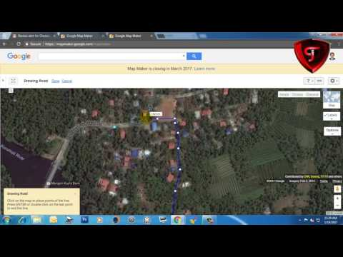 How to add a Place or Road In Google Map Maker