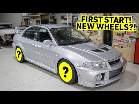 Building My EVO 6 Into An STI Killer - FIRST Startup!  - Part 20