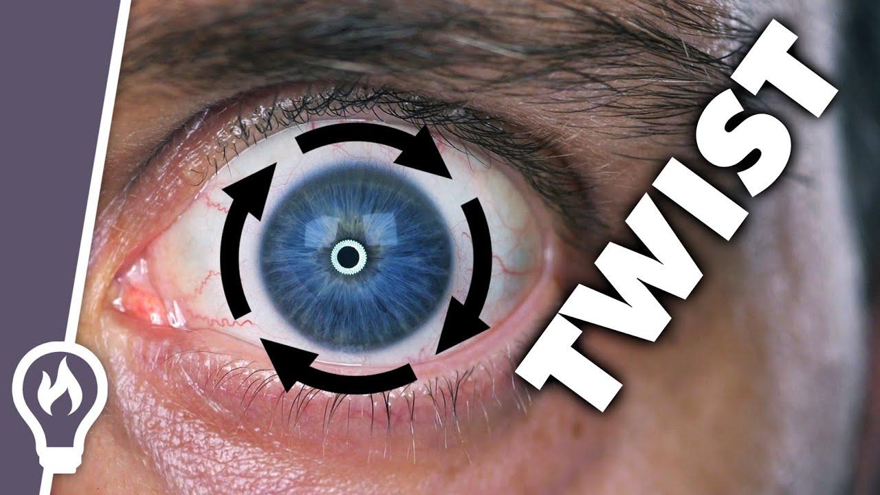 Eye twisting!?