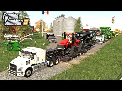 PACKING UP & MOVING THE FARM TO NEBRASKA (ROLEPLAY SERIES) | FARMING SIMULATOR 2019