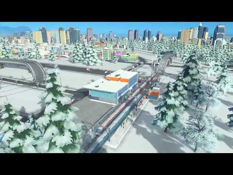 Cities: Skylines - Strife in a Northern Town #3 (PS4 Pro)
