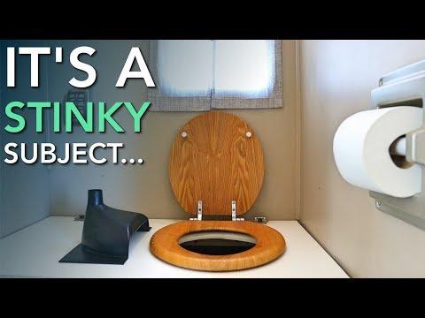 Adding A Urine Diverter + Improving Our DIY Composting RV Toilet