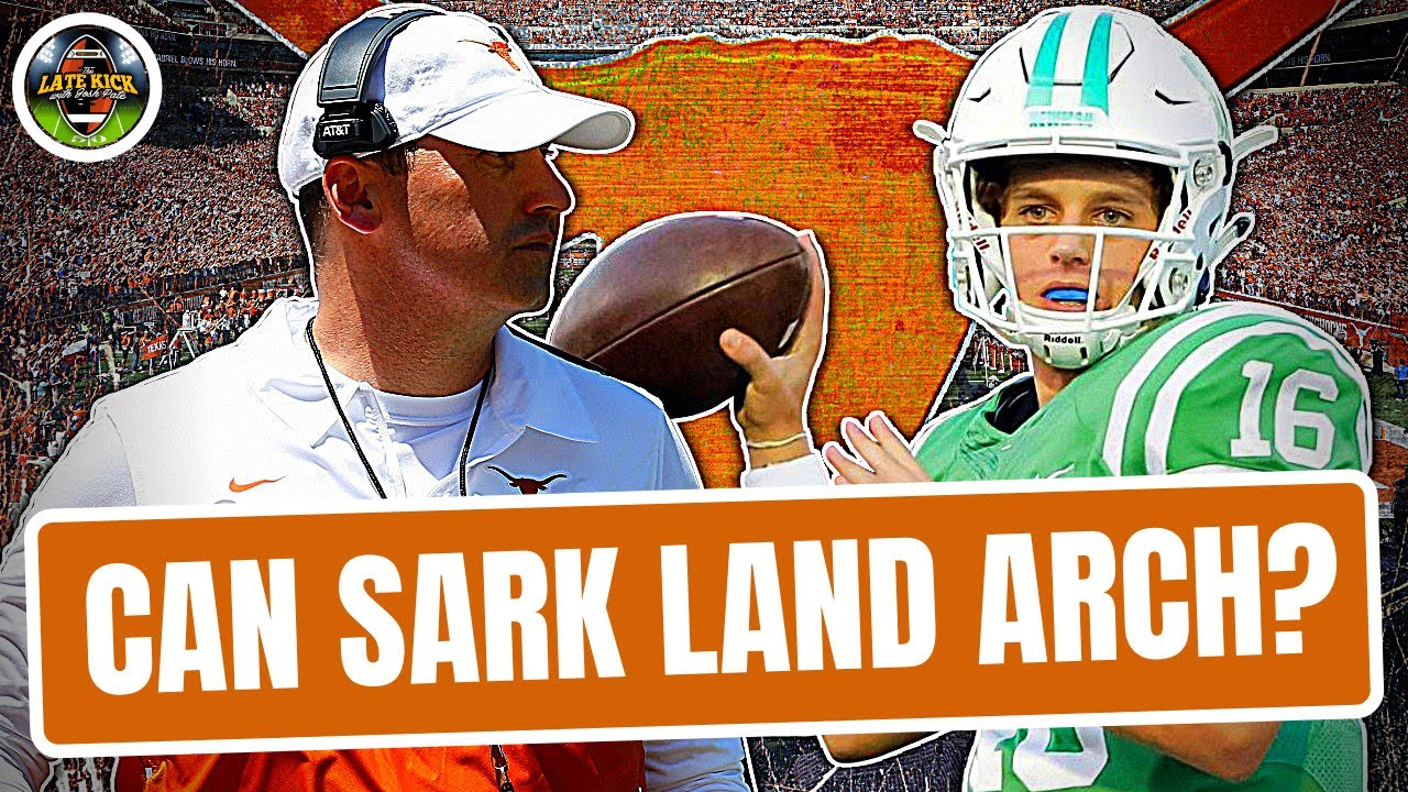 Can Texas Land Arch Manning? - Rapid Reaction (Late Kick Cut)