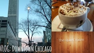 Gambar cover GREEK CAFE & GOING TO THE CHICAGO WATER TOWER   HelloStayVlogging
