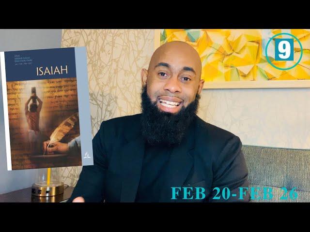 A Feeling Suffering Servant |Sabbath School | Lesson #9 Qtr. 2021