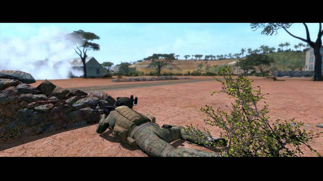 Africa Large AI custom battles ARMA 2 YouTube