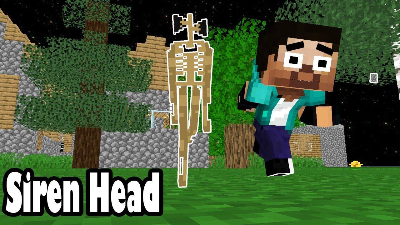 Monster School : Siren Head Challenge- minecraft animation