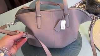 Bag of the Moment: Coach Bleeker Satchel & What's Inside!! Thumbnail