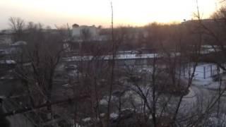 Шымкент ( Чимкент ), утро 6 февраля 2015г.