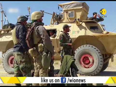 Afghan army base attacked