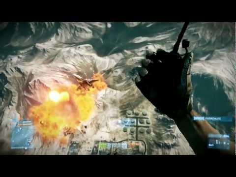 Battlefield 3 -  Jet C4 Explosion Kill!