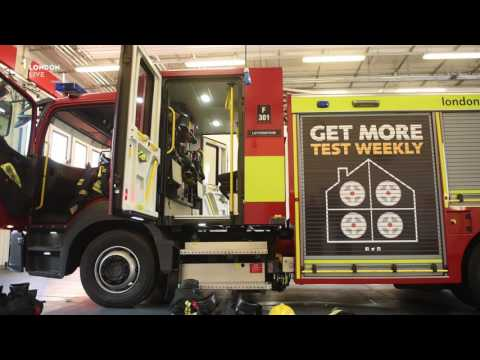 London gets a new fleet of fire engines after a decade