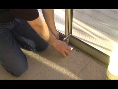 Nightlock Patio Door Lock For Sliding Doors Mov Youtube