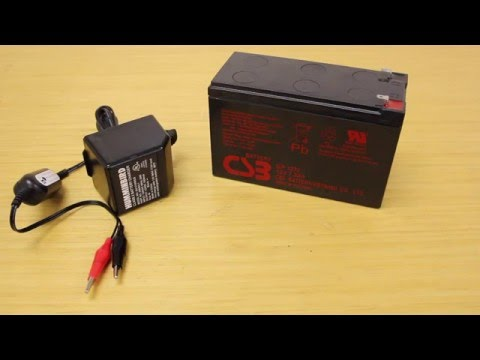 ACK Product Focus: Humminbird GCBK 12 Volt Gel Cell Battery With Charger