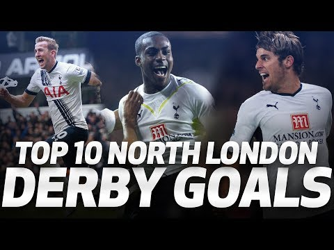 🔥 TOP 10 NORTH LONDON DERBY GOALS ⚽ Spurs v Arsenal