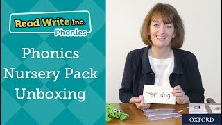 Read Write Inc.: Unboxing the Nursery Pack