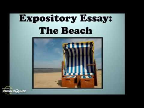 Expository Essay: The Beach