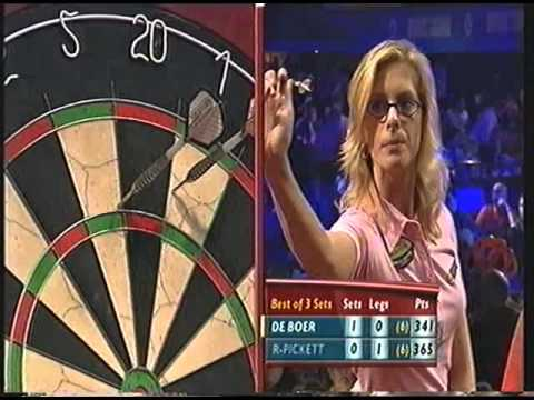 Darts World Championship 2003 Ladies de Boer vs Rogers-Pickett