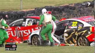 2013 Phillip Island 360 Courtney Huge Crash