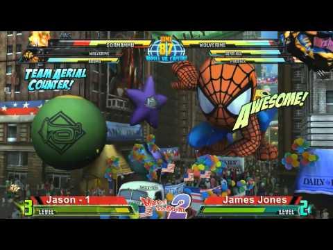 Jason vs James Jones - Marvel Throwdown 2 @ Metropolis Comics And Toys