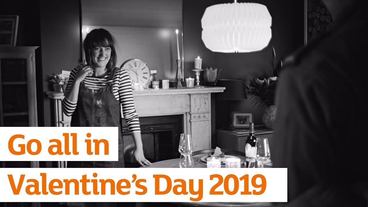 Sainsburys Christmas Advert 2019 Go all in | Sainsbury's Ad | Valentine's Day 2019   YouTube
