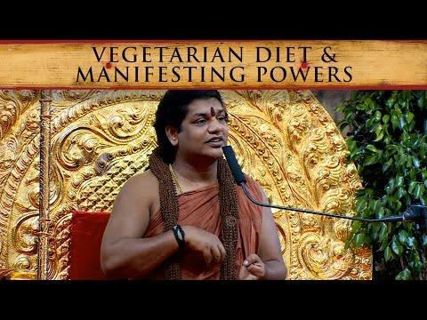 Vegetarian Diet for Manifesting Extraordinary Powers