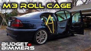 E46 Sedan Roll Cage Install