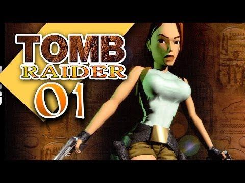 Tomb Raider 1 #001 [GER] - Zeig mir deine Kanten, Kleines - Let's Retro
