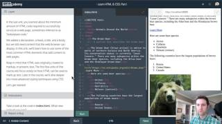 Let's Code Live :: Codecademy Learn HTML & CSS  - 1