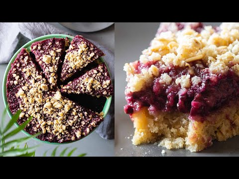 Almond Oat Crumble Blackberry Pie (Gluten-Free & Dairy Free)