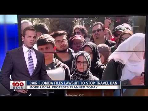 CAIR-FL  files lawsuit to stop President Trump's travel ban