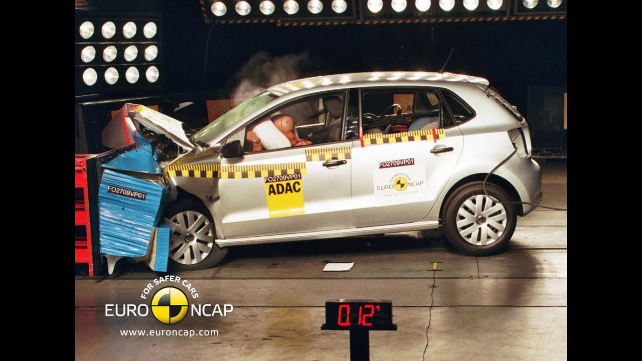 volkswagen polo crash test euro ncap youtube. Black Bedroom Furniture Sets. Home Design Ideas