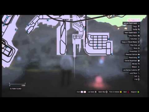 GTA 5 Online-Cargobob Military Helicopter location Always ...