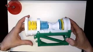 Выпуск #7. Сборка макета двигателя НК-16СТ