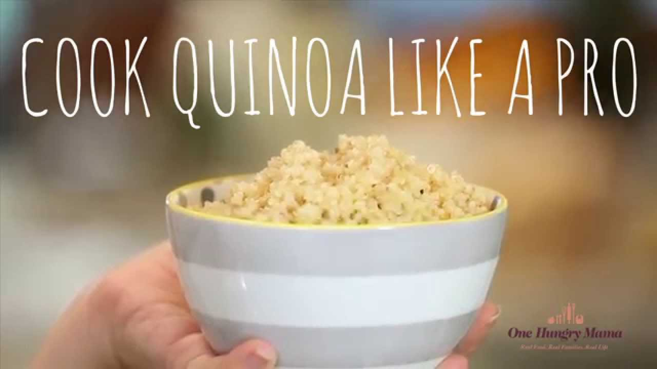 How To Cook Quinoa Like A Pro In 5 Easy Steps  One Hungry Mama