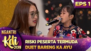 Download lagu Peserta Termuda Riski Duet Sambalado Bareng Ka Ayu Ting Ting Ngantri KDI 2019