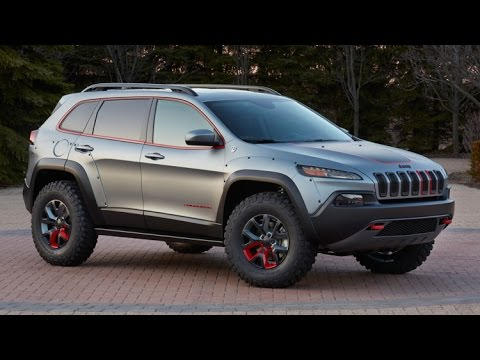 2017 Jeep Cherokee Dakar 4x4 mid-size - review - YouTube