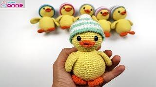 Amigurumi ördek yapımı - Amigurumi free pattern baby duck