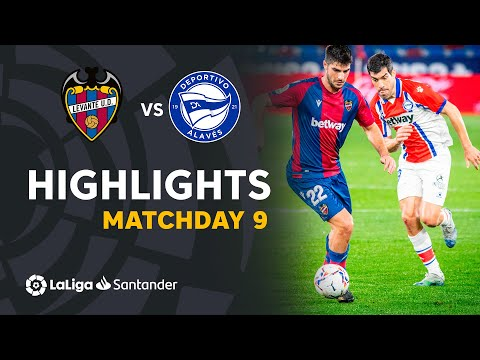Levante Alaves Goals And Highlights