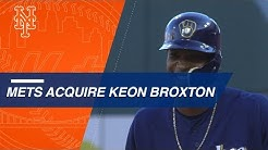 Mets acquire Keon Broxton in trade with the Brewers