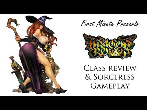 Dragon's Crown Characters Review & Sorceress Walkthrough Gameplay