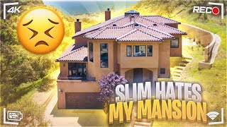 @Tall Guy Car Reviews hates MY MAILBU MANSION!!!