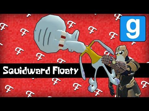 Gmod: Penos Creator, Squidward Floaty, Wheelchair Bull Riding! (Garrys Mod Sandbox - Comedy Gaming)