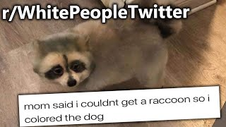 r/WhitePeopleTwitter | Mom said I can't Have a Raccoon So I.....